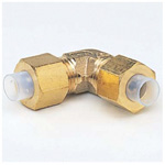 Quick Seal Series, Insert Type (Brass Specifications), 90°Union Elbow (mm Size)