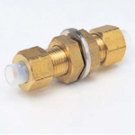 Quick Seal Series Insert Type (Brass Specifications) Panel Touch Connector (Inch Size)