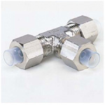 Quick Seal Series Insert Type (Stainless Steel) Union Tee (Metric Sized)