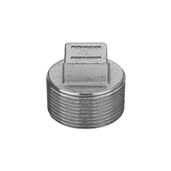 Stainless Steel Screw-In Tube Fitting Square Plug