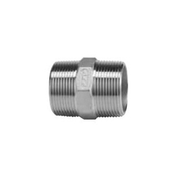 Stainless Steel Screw-In Tube Fitting Hexagonal Nipple