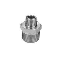 Stainless Steel Screw-In Tube Fitting Hexagonal Nipple with Reducing