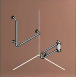 Barrier-Free Handrail (for Western-Style Toilets) SK-153SN/SK-153SN-RJ +L-Grip Bar