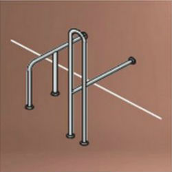 Barrier-Free Handrail (for Western-Style Toilets) SK-156SN/SK-156SN-RJ