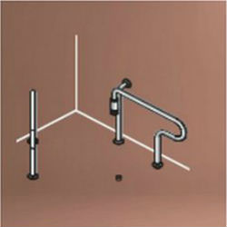 Barrier-Free Handrail (for Western-Style Toilets) SK-162S