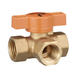 T-Shaped (Three-Way) Ball Valve with T Handle