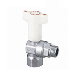 CBL2 Type, Ball Valve with Check Valve, Rc Screw × G Screw, Angle Type