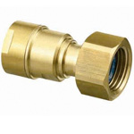 Plastic Pipe Fitting, CAPORI Eco Adapter with Nut, CEJ18 Type