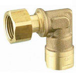 Resin Pipe Fitting, CAPORI Eco, Elbow Adapter, CEL12 Type