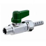 Free Ball, M6, R Screw × Hose Joint