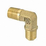 Copper Tube Fitting, Elbow (Used to Connect Copper Tubes) 1/8