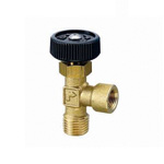 Right Angle Miniature Valve, R Thread × Rc Thread