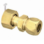Brass Fitting, Half Union with Nut (Brass Sleeve)