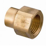 Copper Pipe Fittings, Female Adapter