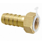Metal Pipe Fitting, Hose Adapter with Nuts