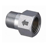 Metal Piping Fitting, Nipple with Check Valve