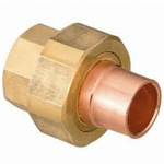 Copper Tube Fitting, Insulation Union (Ring Included), Compact Type