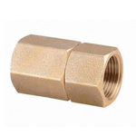 Metal Piping Fitting, Rotation Nipple, Tapered Female Screw
