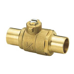 Ball Valve for Copper Pipe/Copper Pipe Connection, Soldered S1 Type