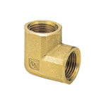 Metal Pipe Fitting, Elbow (Inner), Made of Brass