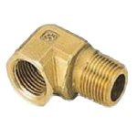 Metal Piping Fitting, Street Elbow, Made of Brass