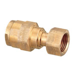 Double Lock Joints Model WJ18 Adapter with Nut Bronze