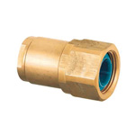 Double-Lock Joint, WJ29 Type, Tapered Female Thread Pipe-End with Inner Core