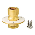 Double-Lock Joint Adapter, WJ43 Type, Adapter Mounted Under Floor, Made of Brass