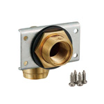 Double Lock Joint, WL11 Type, UB Wall Wall-Penetrating Fitting, Brass