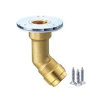 Double-Lock Joint, WL13, Floor Rise Adapter (Long), Made of Brass