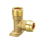 Double Lock Joint, WL23 Type, Shoulder Seat Elbow Socket, Made of Brass