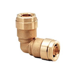 Double Lock Joint, WL3 Type, Elbow Socket, Made of Brass