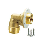 Double Lock Joint, WL30 Type, Elbow for Wall Back Mounting
