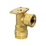 Double Lock Joint, WL6 Type, Backseat Water Faucet Elbow, Made of Brass