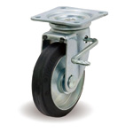Steel Plate Caster with Swivel Stopper JB Hardware, F/JB