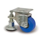Compact Caster Adjuster for Heavy Loads with L-JW Hardware L-MCB/JW