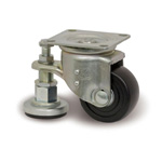 Compact Caster Adjuster for Heavy Loads with L-JW Hardware L-N/JW