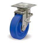 Stainless Steel Caster with Swivel Stopper JSZ Hardware MCB/JSZ