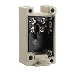 Compact Heavy Equipment Limit Switch Receptacle Box D4A-N