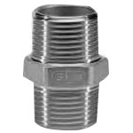 Stainless Steel Screw-in Fitting Hexagonal Nipple 6N