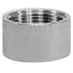 Stainless Steel Screwing Fitting Half Socket Taper Female Screw HST