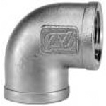 Stainless Steel Screw-in Fittings, 90° Elbow L