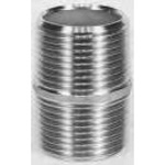 Stainless Steel Screw-in Fitting, Two Nipples, N