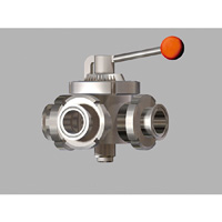 Manual, Three-way Ball Valve