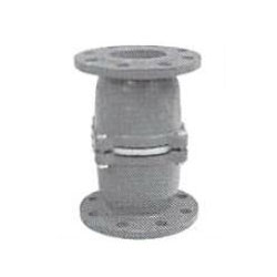 Cast Iron Flange Type Half Opening Intermediate Foot Valve with Gunmetal Body