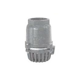 Cast Iron Screw Type Half-Opening Foot Valve with Stainless Steel Body without Lever