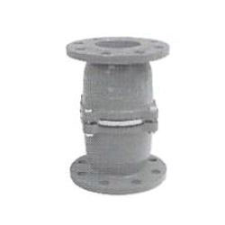 Cast Iron Flange Type Half Opening Intermediate Foot Valve with Stainless Steel Body
