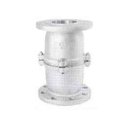 All Stainless Steel Flange Type Half Opening Intermediate Foot Valve