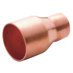 Copper Pipe Fittings, Brazing Materials (for R32 and R410A Refrigerants), Different-Diameter Sockets