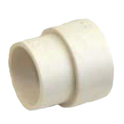Drain Pipes, Fittings for Drain Pipes, Drain Pipe Different Diameter Socket (Ivory), K-HES